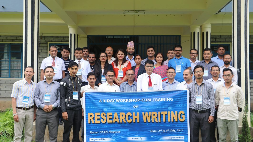 Research Writing Workshop